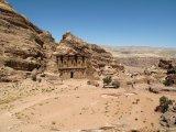 Skoro 40 m vysoký chrám Ad Deir.