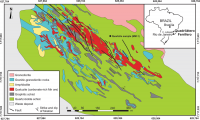 Geological map of the area