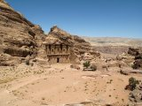 Almost 40 m high Ad Deir Monastery.